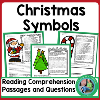 Christmas Reading Comprehension Passages By Trina Deboree Teaching