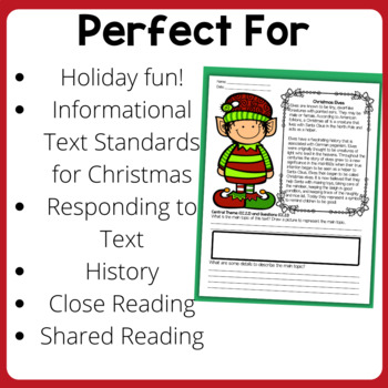 Christmas Activities: Reading Comprehension Passages