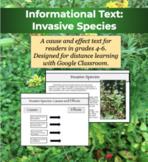 Informational Text for Google Classroom: Invasive Species