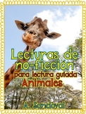 Informational Text for Guided Reading in Spanish Lectura guiada