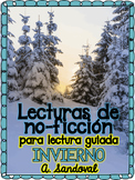 Informational Text for Guided Reading in Spanish- WINTER E