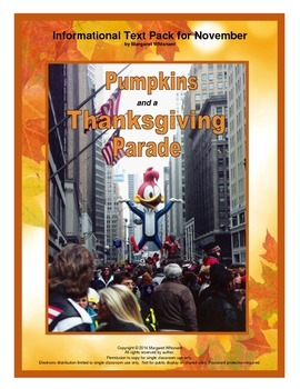 Informational Text for November