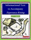 Informational Text to Accompany Esperanza Rising
