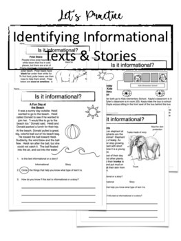 Informational Text with Labels