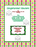 Informational Text:Gingerbread Houses and Questions (Commo