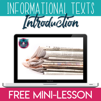 Introduction to Nonfiction and Informational Texts Mini-lesson