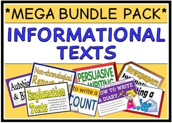 Informational Texts (MEGA BUNDLE PACK)