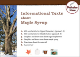 Informational Texts about Maple Syrup