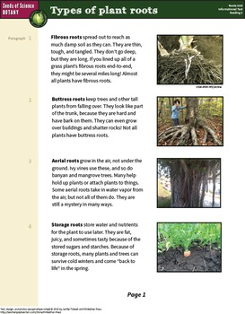 Informational Texts about Plant Roots