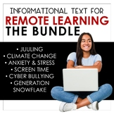 Informational Texts for Distance Learning: The Bundle