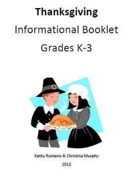 Informational Thanksgiving Booklet