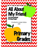 Informational Writing: All About My Friend