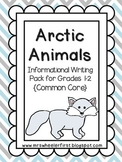 First Grade Informational Writing: Arctic Animals