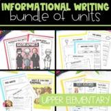 Informational Writing BUNDLE