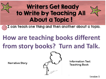 Informational Writing Bends 1-3