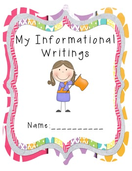 Informational Writing Book