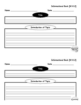 writing a book template