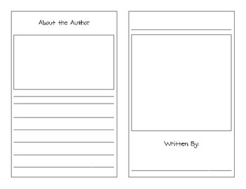 Informational Writing Booklet