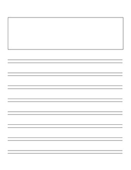 Informational Writing Booklet - Lucy Calkins & Handwriting w/o Tears