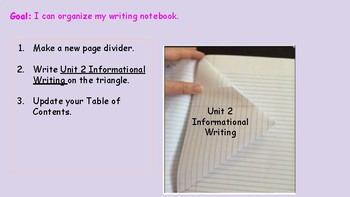 Informational Writing - Brainstorming