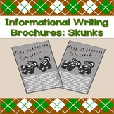 Informational Writing Brochures: Skunks
