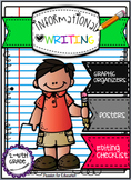 Informational Writing Bundle!! (Posters, Graphic Organizer