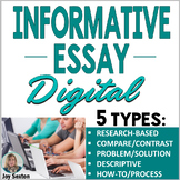 Informational Writing DIGITAL: 5 Informative Essays for Go