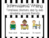 Informational Writing First Grade