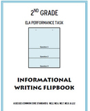 Informational Writing Flipbook ELA Common Core Performance Task