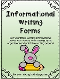 Informational Writing Forms