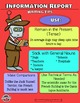 Informational Writing Frame and Worksheet Packet (Classroom Posters Added)
