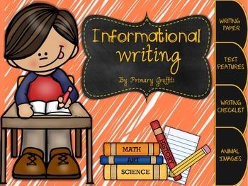 Informational Writing {Freebie}