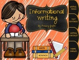 Informational Writing {Freebie}