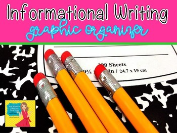 Informational Writing Graphic Organizer Unit