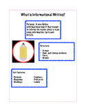 Informational Writing Guidance/Organizer