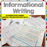 Informational Writing Guide - Common Core Aligned