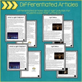 Informational Writing - Includes Reference Articles & Poster
