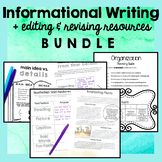 Informational Writing Complete Unit PLUS Editing and Revis