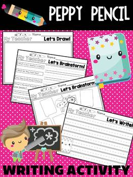 Descriptive Writing - My Teacher - A Peppy Pencil Writing Activity