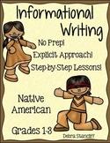 Native American Writing Informational