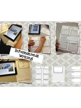 Informational Writing and Summarizing