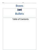 Informational Writing Organizer- Editable