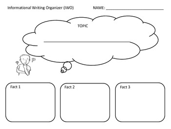 Informational Writing Organizer (IWO)