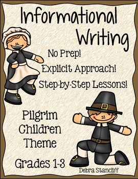 Pilgrim Writing Informational
