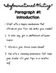 Informational Writing: Planning & Introductory Paragraphs!