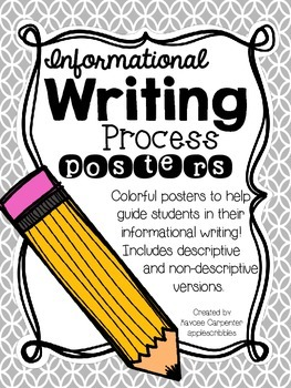Informational Writing Process Posters