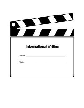 Informational Writing Project Graphic Organizer with Rubric