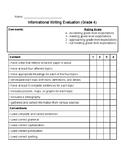 Informational Writing Rubric