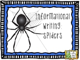 Informational Writing - Spiders