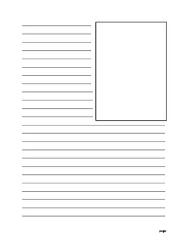 Informational Writing Template